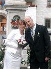 Soutěžní svatební pár číslo 215 - Magda a Petr Prokešovi, Koryčany