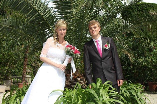 Soutěžní svatební pár číslo 60 - Petra a Petr Krystýnkovi, Uherský Brod