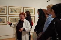 Redakce Slováckého deníku využila jednu z posledních možností navštívit výstavu Josefa Lady