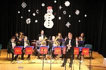 Nivnická Beseda zažila svůj vánoční koncert v podání dechové hudby Bojané.