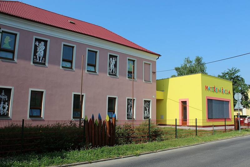 Prohlídka obce Babice. Mateřinka