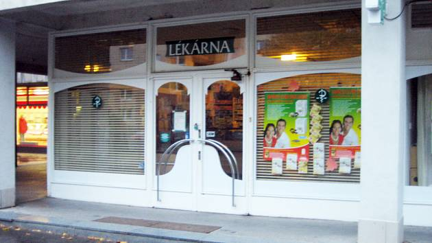 Lékárna na sídlišti Štěpnice v Uherském Hradišti.