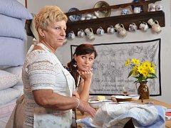 V prvním díle pořadu Špetka Slovácka vařila Ludmila Haldová z Kunovic.