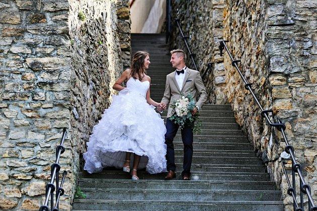 Soutěžní svatební pár číslo 47 - Monika a Ondřej Miklíkovi, Přerov