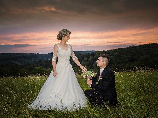 Soutěžní svatební pár číslo 91 - Jan a Petra Brhlíkovi, Bojkovice