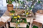 Výstava květin v Jalubí.