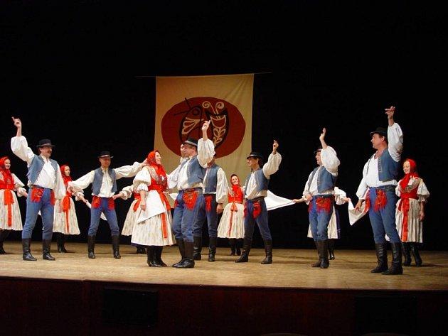 Old Stars bývalých tanečníků Hradišťanu.