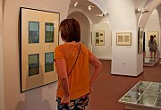 Lidé se mohli při komentované prohlídce dozvědět, jak se knížka Broučci zpohledu výtvarného umění vyvíjela.