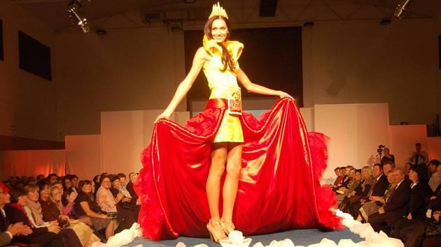 Svědkem velkolepé módní přehlídky exkluzivních modelů návrhářky Marie Zelené byla hned dvakrát v sobotu 19. listopadu zcela zaplněná sportovní hala v Ostrožské Nové Vsi.