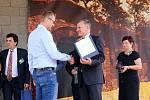 Vyhlášení vítězů soutěže TOP Víno Slovácka 2019 a předání ocenění pro místo: Multifunkční zařízení školního hřiště v Polešovicích