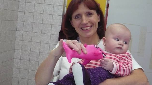 Jitka Slivečková - instruktorka plavání pro miminka