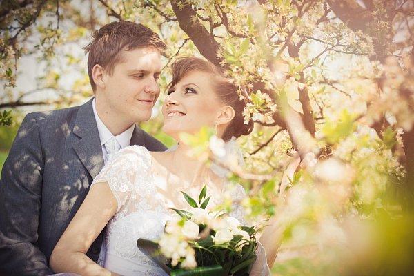 Soutěžní svatební pár číslo 91 - Nikol a Kamil Měrkovi, Olomouc.