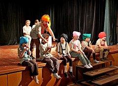 Malí divadelníci vystupovali na celokrajské přehlídce v Uherském Hradišti.