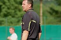 Karel Mičkal si odskočil z rozhodcovcké profese a hned pomohl Vidče gólem.