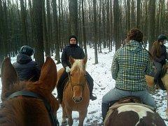 Jezdce na koních v Chřibech ohrožuje neznámý pachatel nataženými dráty.