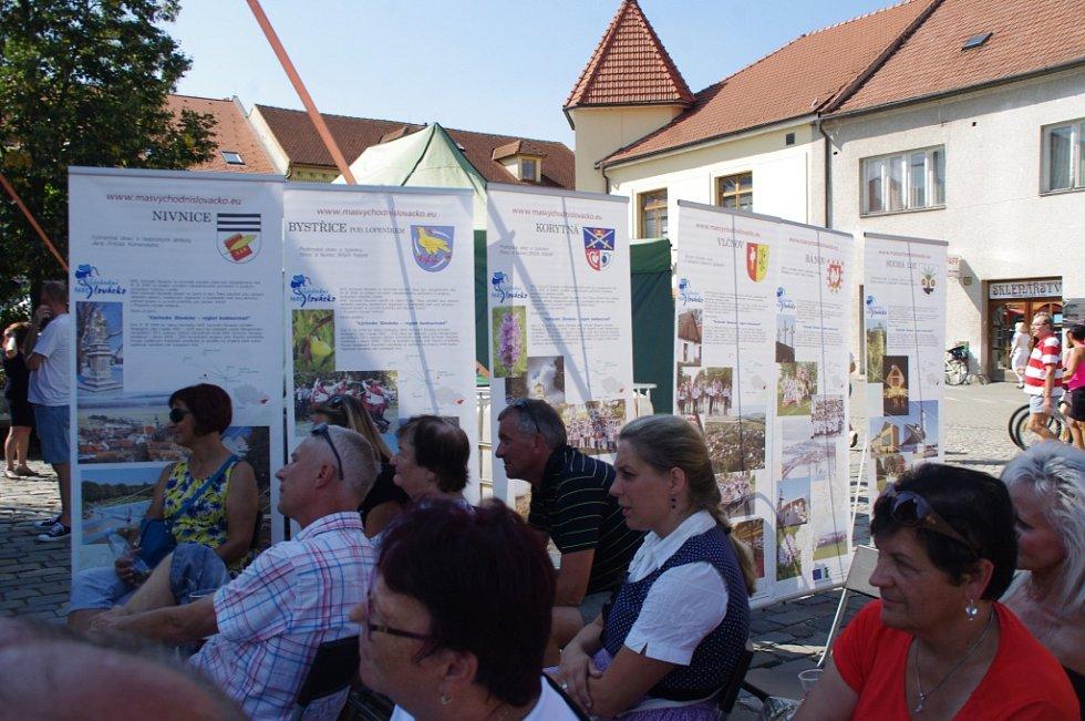 Mikroregion Východní Slovácko na Slováckých slavnostech vína a otevřených památek v Uherském Hradišti.