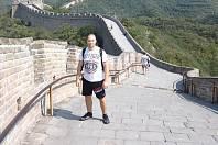 Útočník Ořechova David Hynčica navštívil před utkáním s Uherském Ostrohem Čínu.