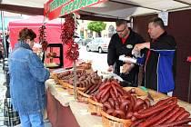 Po víc než šedesáti letech se do Uherského Hradiště vrátil selský trh.