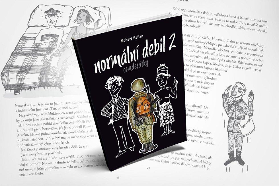 Kniha Roberta Bellana Normální debil 2