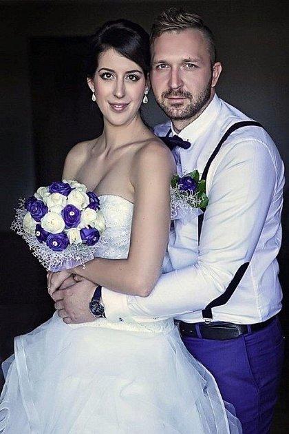 Soutěžní svatební pár číslo 117 - Lenka a Martin Přikrylovi, Uherský Brod