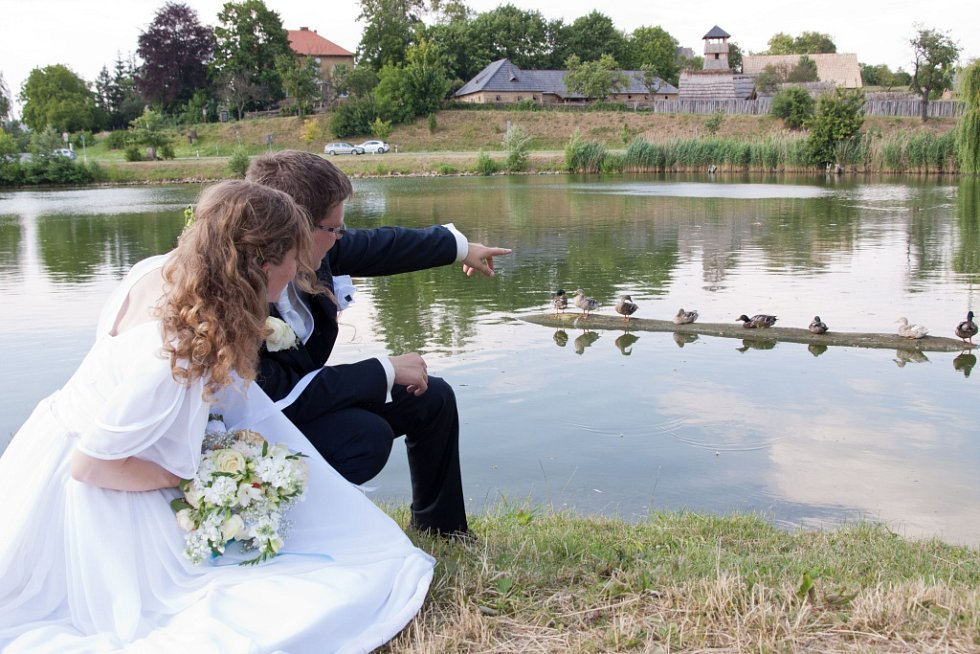 Soutěžní svatební pár číslo 278 - Vladimíra a Václav Pavlíčkovi, Hluk.