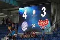Nová tabule na stadionu 1. FC Slovácko.