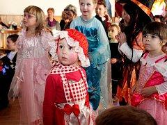Děti se mohly na karnevalu v Kudlovicích jaksepatří vyřádit.