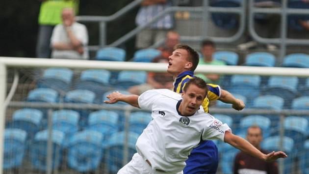 Výborné fotbalové menu naservírovali divákům fotbalisté Opavy a Slovácka v prvním zápase letošní sezony.