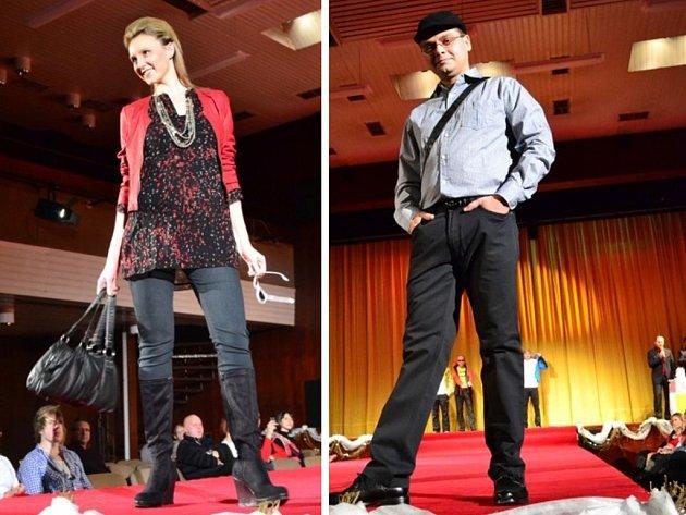 V hradišťském Klubu kultury se v sobotu konala charitativní módní přehlídka.