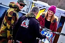 Čtvrtým místem vstoupila do nové motokrosové sezony vlčnovská závodnice Marika Mlýnková.