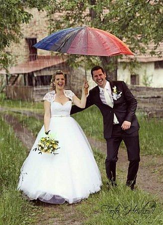 Soutěžní svatební pár číslo 37  –  Tereza a Tibor Michalčíkovi, Bojkovice