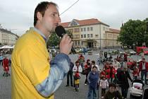 22. května odstartovala na Masarykově náměstí v Uh. Hradišti Bambiráda 2008.