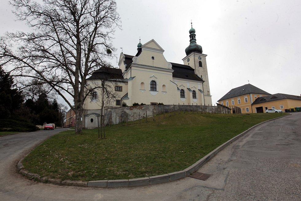 Buchlovice kostel sv. Martina