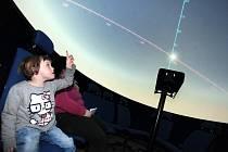 Digitální planetárium v  Domě  kultury v Uherském Brodě.