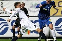 FC Slovan Libere - 1.FC Slovácko. Ilustrační foto.