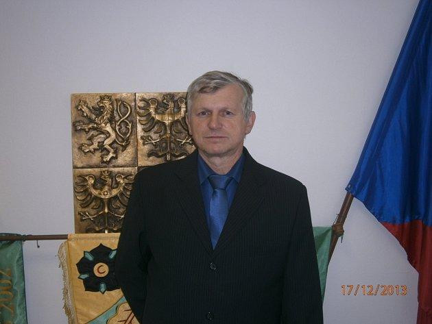 Starosta Lopeníku Antonín Dulínek.