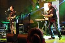 Koncert kapely Turbo na náměstí v Uherském Hradišti