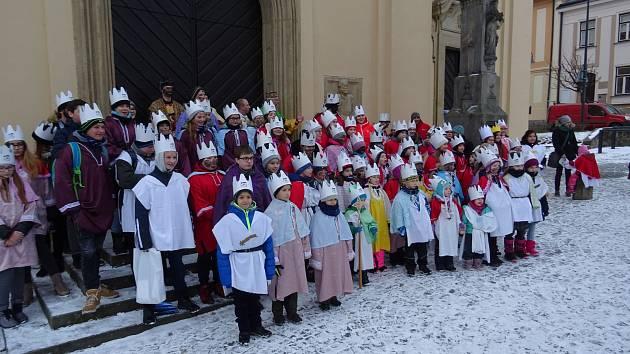 Tříkrálová sbírka v Uherském Brodě 2019