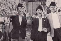 Hody ve Zlechově v roce 1957.