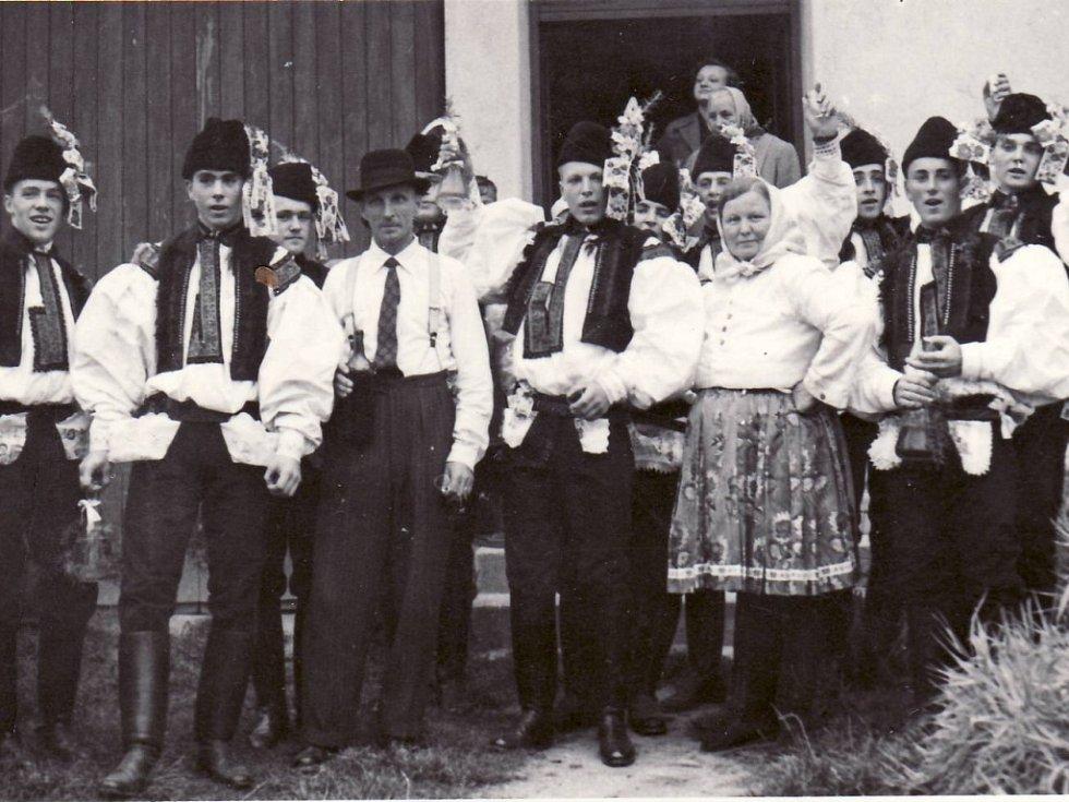 Zelchovské hody v roce 1957.