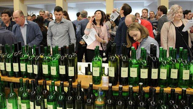 Přehlídka vín v Boršicích