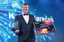 EY Technologickým podnikatelem roku se stal Karel Mareček.