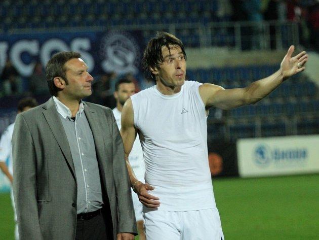 Svatopluk Habanec a Jan Trousil
