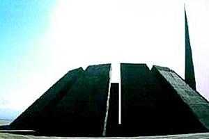 Památník genocidy Arménů.