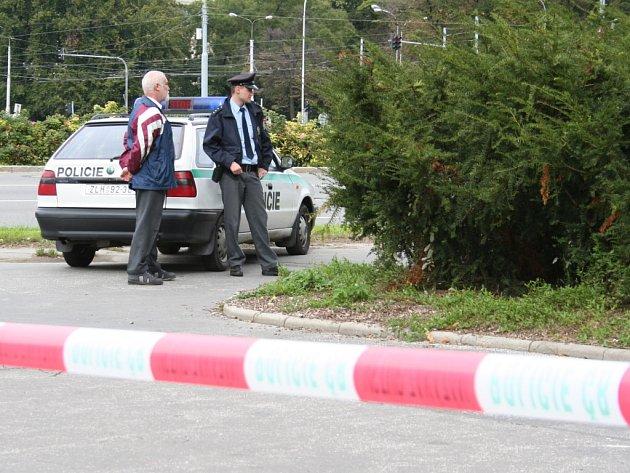 V tomto křoví nedaleko zlínské Tržnice nalezl před dvěma roky kolemjdoucí chodec mrtvého Vojtěcha Janocha.