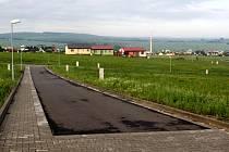 Nová obytná zóna Nad Zámkem má ideální předpoklady k bydlení.