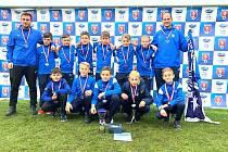 ŠAMPIONI. Fotbalisté 1.FC Slovácko U11 ovládli celostátní turnaj Ondrášovka Cup.