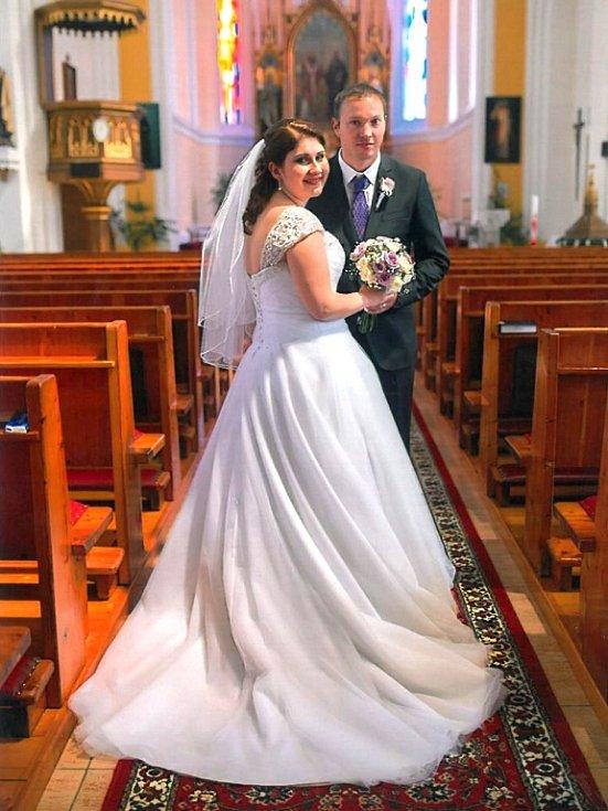Soutěžní svatební pár číslo 216 - Petra a Martin Ševčíkovi, Březová