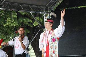 Mladí verbíři na Kunovském létě