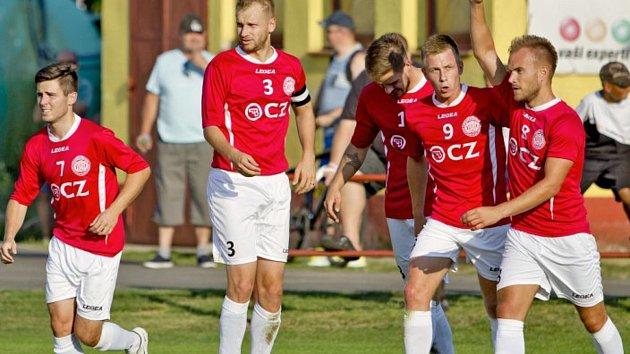Fotbalisté Uherského Brodu. Ilustrační foto